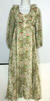Prairie Dress Vintage Cottage Floral  Long Sleeve This is Yours San Francisco