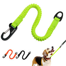 Truelove Buffer Dog Leash Nylon Rope Short Stretchy Extension Bungee Pet Lea