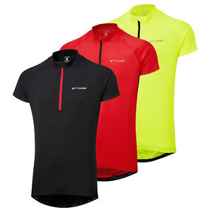 Ettore Mens Cycling Jersey Top Short Sleeve Breathable Quick Dry - Vesica