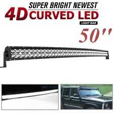 50inch 700W LED Light Bars Flood Spot Combo Roof Driving Truck Boat SUV 4WD 52''