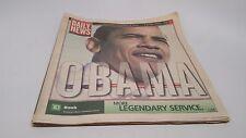 Philadelphia Daily News Wed, Nov 5, 2008 OBAMA President Obama Newspaper History