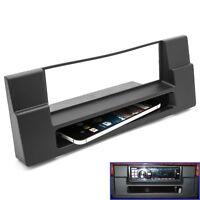 Radio Blende Einbau Rahmen DIN für BMW 5er ( E39 ) BMW X5 ( E53 ) mit Ablagefach