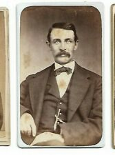 Vintage CDV- Unidentified Man - Photo by Unknown Photographer (3589)
