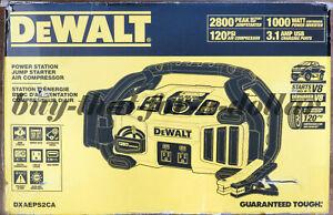 NEW*DEWALT DXAEPS2 Professional Power Station 2800 Peak/1400 Instant Amps 1000W