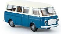 BREKINA 34410 - Fiat 238 mini bus bianco/blu,  scala H0 1/87