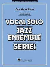 Cry Me a River Vocal Solo Jazz Ensemble Series NEW 007500091