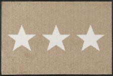 Wash Dry 056034 Fußmatte Stars 50 X 75 Cm Sand