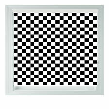 Chequered Flag Roller Blind Racing Printed black out roller blind various sizes