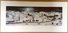 Will Moses Holiday Cheer Signed Artist Proof Print 38/50