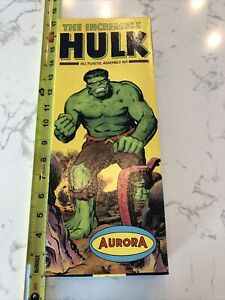 VTG Aurora 1966 The Incredible Hulk Toy Model KIT NO. 421-100 - RARE!!!