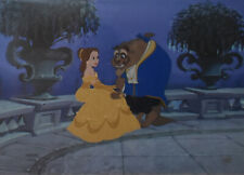 Disney Beauty and The Beast Animation Limited Edition Cel Sitting on the Terrace