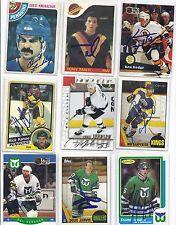 1987 OPC # 30 Bob Carpenter Signed Hockey Card Los Angeles Kings