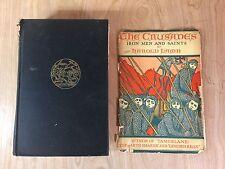 Vintage History Book 1930 1st Edition The Crusades Iron Men & Saints Harold Lamb