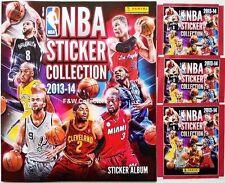 PANINI NBA STICKER COLLECTION 2013-2014 STARTER ALBUM & 3 STICKER PACK NEW