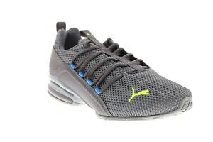 Puma Axelion LS 19438406 Mens Gray Mesh Cross Training Athletic Shoes