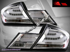 Chrome LED Tail Lights for 2013-2015 Honda Civic 4Door Sedan