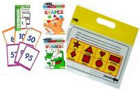 Early skills learning tools w/ BONUS carry bag - NUMBERS & SHAPES