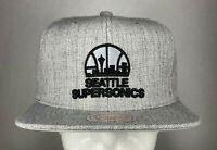 Mitchell and Ness NBA Seattle Supersonics Primary Logo Snapback Hat, New