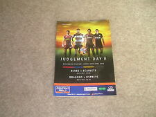Judgement Day 11 20th April 2014 Match Day Programme