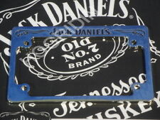 Jack Daniels signature Harley dyna touring softail sportster license plate cover
