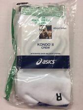 Asics Kondo II Crew Volleyball Socks New In Package Medium
