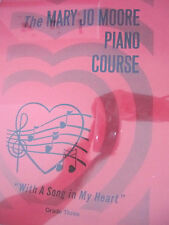 Mary Jo Moore Piano Course/Grade 3/Home School friendly/Christian based