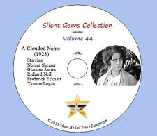 """DVD """"A Clouded Name"""" (1923) starring Norma Shearer, Classic Mystery Drama"""
