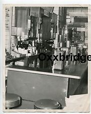 African American Diner Black Owned Restaurant Interior 1940 HARLEM NYC Photo