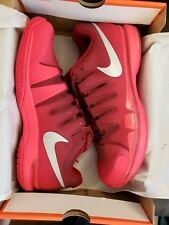 NIB Nike Federer Zoom Vapor 9.5 Tour RED Tennis Shoes 631458-602 NEW Nadal