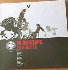 En Directo VINYL Fk Allstars LP RAR Freundeskreis Max Herre Gentleman Hip Hop