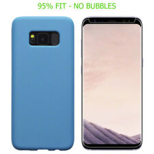 Blue Matte Mobile Phone Cases & Covers for Samsung Galaxy S8