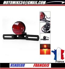 phare arriere ECLAIRAGE PLAQ CAFE RACER TRITON NORTON TRIUMPH support de plaque