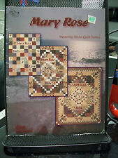 MARY ROSE STEPPING STONE QUILT SERIES QUILTING PATTERNS INSTRUCTIONS FOUR CORNER