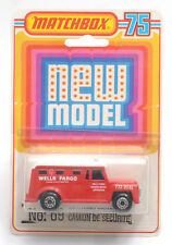 Matchbox Superfast MB-69 Security Truck In Blister Pack * MOC *