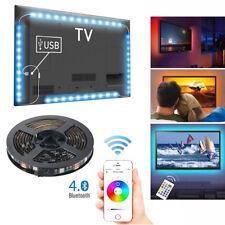 4x50cm USB Bluetooth4.0 Led Licht Band Streifen TV Hintergrundbeleuchtung LD1567