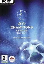 UEFA Champions League 2006-2007 PC DVD Game NEW Sealed, US Shipper & Company