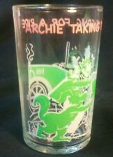 Vintage Archie Takes The Gang For A Ride jelly glass with veronica on bottom
