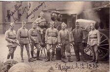 GUERRE 14-18 - SOLDATS - CARTE PHOTO - MAYENCE ALLEMAGNE LE 12-10-1919.