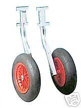 roues relevables inox tous bateaux pneus