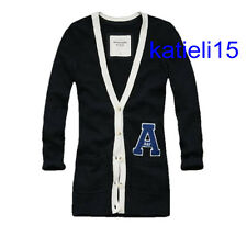 Abercrombie & Fitch Women's Alana Logo Sweater Cardigan M