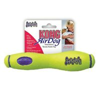 Air Squeaker Stick Toy for Dogs Heavy Duty Tough Floating Dog Toys - Choose Size