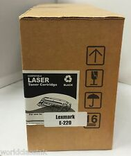 Compatible Toner Cartridge for Lexmark Optra E220N,Black 12S0400 12S0300 E-220