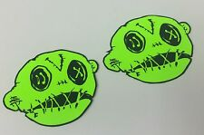 """Voodoo Offroad - One Pair of 3"""" Voodoo Head Decals - Replace the 'O' in rubicOn"""