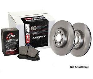 Centric 908.66009 Semi-Metallic Front Disc Brake Pad and Rotor Kit