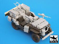 British SAS Jeep North Africa 1942, T35014, BLACK DOG, 1:35