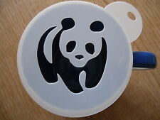 LASER CUT PANDA Walking design caffè e Craft Stencil