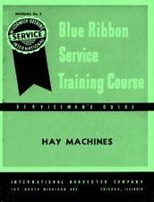 International McCormick Hay Machines Horse Drawn Mower Attachment Service Manual