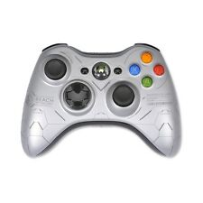 Official Xbox 360 Halo Reach Wireless Controller Microsoft OEM Silver