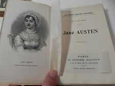 KATE ET PAUL RAGUE JANE AUSTEN Didier Bloud & Gay 1914 EO rare