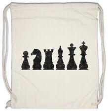 Chess I Turnbeutel Checkmated King Queen Bishop Knight Pawn Tournament Schach